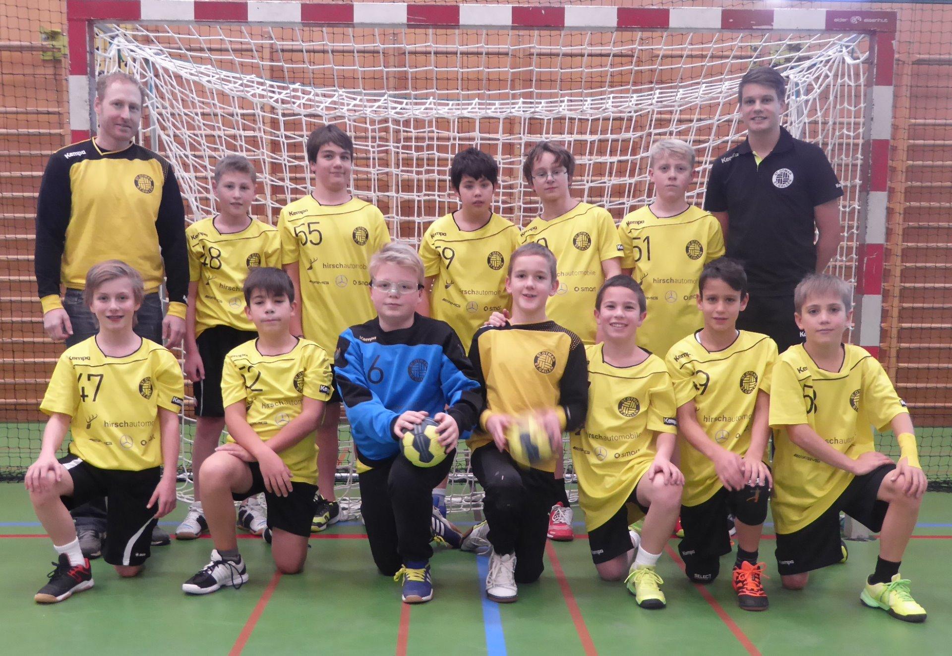 Nachwuchsteam U13 | TSV St.Otmar Handball St.Gallen